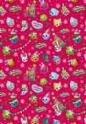 Shopkins Christmas Roll Wrap - 3m